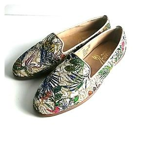 Aerosoles Loafers Tropical print Gold